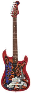 Musical Instruments:Electric Guitars, 2005 Fender Bettie Page Stratocaster Red Solid Body ElectricGuitar, Serial # Z5013664....