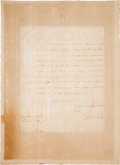 Autographs:Non-American, King Charles II of England Autograph Letter Signed...