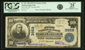 National Bank Notes:Missouri, Nevada, MO - $10 1902 Plain Back Fr. 626 The First NB Ch. # 3959PCGS Very Fine 25 Apparent.. ...