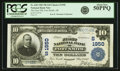 Fort Smith, AR - $10 1902 Plain Back Fr. 628 The First NB Ch. # (S)1950 PCGS About New 50PPQ