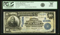 National Bank Notes:Tennessee, Jackson, TN - $10 1902 Date Back Fr. 621 The Security NB Ch. #(S)10334 PCGS Very Fine 30 Apparent.. ...