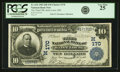 National Bank Notes:Missouri, Saint Louis, MO - $10 1902 Date Back Fr. 616 The Third NB Ch. # (M)170 PCGS Very Fine 25.. ...