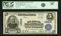 National Bank Notes:Missouri, Saint Louis, MO - $5 1902 Plain Back Fr. 609 St. Louis NB Ch. #12216 PCGS Very Fine 20.. ...