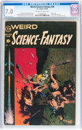 Golden Age (1938-1955):Science Fiction, Weird Science-Fantasy #29 (EC, 1955) CGC FN/VF 7.0 Off-white towhite pages....