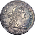 Early Half Dollars, 1805 50C O-111, R.2, AU53 NGC....