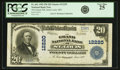 National Bank Notes:Missouri, Saint Louis, MO - $20 1902 Plain Back Fr. 661 The Grand NB Ch. #12220 PCGS Very Fine 25.. ...