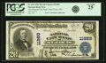 National Bank Notes:Missouri, Saint Louis, MO - $20 1902 Plain Back Fr. 660 National City BankCh. # 11989 PCGS Very Fine 25.. ...