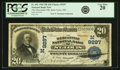 National Bank Notes:Missouri, Saint Louis, MO - $20 1902 Plain Back Fr. 652 The Mercantile NB Ch.# (M)9297 PCGS Very Fine 20.. ...