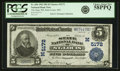 National Bank Notes:Missouri, Saint Louis, MO - $5 1902 Plain Back Fr. 606 The State NB Ch. # (M)5172 PCGS Choice About New 58PPQ.. ...