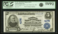 National Bank Notes:Missouri, Saint Louis, MO - $5 1902 Plain Back Fr. 601 The NB of Commerce Ch.# 4178 PCGS Choice About New 55PPQ.. ...