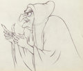Animation Art:Production Drawing, Snow White and the Seven Dwarfs The Old Hag AnimationDrawing (Walt Disney, 1937)....