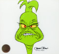 Animation Art:Production Cel, Dr. Seuss' How The Grinch Stole Christmas Production Cel (MGM, 1966).... (Total: 2 Items)