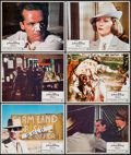 "Movie Posters:Mystery, Chinatown (Paramount, 1974). Lobby Cards (10) (11"" X 14"") &Uncut Pressbook (2 Pages, 12"" X 15""). Mystery.. ... (Total: 11Items)"