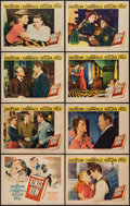 "Movie Posters:Drama, Kings Row (Warner Brothers, 1942). Lobby Card Set of 8 (11"" X 14"").Drama.. ... (Total: 8 Items)"