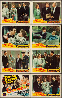 "Remember? (MGM, 1939). Lobby Card Set of 8 (11"" X 14""). Comedy. ... (Total: 8 Items)"