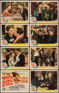 "The White Cliffs of Dover (MGM, 1944). Lobby Card Set of 8 (11"" X 14""). War. ... (Total: 8 Items)"