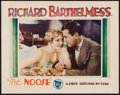 """Movie Posters:Drama, The Noose (First National, 1928). Lobby Card (11"""" X 14""""). Drama....."""