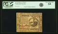 Continental Currency May 9, 1776 $2 Fr. CC-32. PCGS Very Choice New 64