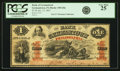 Germantown, PA - Bank of Germantown in the City & County of Philadelphia $1 January 15, 1862 PA-150 G8a Hoober 3...
