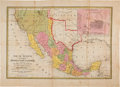 Miscellaneous:Maps, [Map]. Samuel Augustus Mitchell. Map of Mexico Including Yucatan& Upper California, Exhibiting the Chief Cities and Tow...