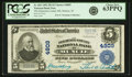 Muncie, IN - $5 1902 Plain Back Fr. 602 The Delaware County NB Ch. # 4809 PCGS Ch