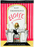Books:Children's Books, Hilary Knight, illustrator. SIGNED. Kay Thompson. Eloise.New York: Simon and Schuster, [1983]. Later edition. Sig...