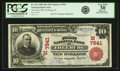 Freeburg, IL - $10 1902 Red Seal Fr. 614 The First NB Ch. # (M)7941 PCGS Very Fine 30 Appare