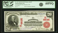 Hannibal, MO - $20 1902 Red Seal Fr. 639 The Hannibal NB Ch. # (M)6635 PCGS Extremely Fine 4