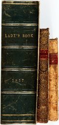 Books:Literature Pre-1900, Trio of Eighteenth and Nineteenth Century Books Intended forLadies. [Various publishers, 1771, 1806, 1857]. Includes a ladi...(Total: 3 Items)