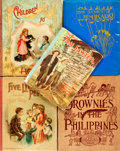 Books:Children's Books, [Children's]. Group of Five Books. Various publishers and dates.Includes a first edition copy of The Brownies in the Phil...(Total: 5 Items)