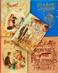 [Children's]. Group of Five Books. Various publishers and dates. Includes a first edition copy of The Brownies in
