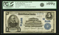 Evansville, IN - $5 1902 Plain Back Fr. 605 The Citizens NB Ch. # (M)2188 PCGS Very Fine 35PPQ