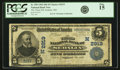 National Bank Notes:Missouri, Sedalia, MO - $5 1902 Date Back Fr. 590 The Third NB Ch. # (M)2919PCGS Fine 15.. ...