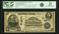 National Bank Notes:Missouri, Kansas City, MO - $5 1902 Date Back Fr. 593 The National ReserveBank Ch. # (M)9677 PCGS Fine 15 Apparent.. ...