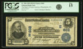 National Bank Notes:Pennsylvania, Philadelphia, PA - $5 1902 Date Back Fr. 590 The Bank of NorthAmerica Ch. # (E)602 PCGS Fine 15.. ...