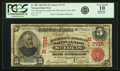 National Bank Notes:Missouri, Saint Louis, MO - $5 1902 Red Seal Fr. 587 The Mechanics-AmericanNB Ch. # (M)7715 PCGS Very Good 10 Apparent....