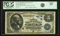 National Bank Notes:Missouri, Saint Louis, MO - $5 1882 Date Back Fr. 534 The NB of Commerce Ch.# (M)4178 PCGS Very Fine 25.. ...