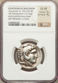 Ancients:Greek, Ancients: MACEDONIAN KINGDOM. Alexander III the Great (336-323 BC).AR tetradrachm (16.22 gm)....
