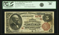 National Bank Notes:Missouri, Saint Louis, MO - $5 1882 Brown Back Fr. 474 The NB of Commerce Ch.# (M)4178 PCGS Very Fine 20.. ...