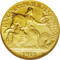 Commemorative Gold: , 1915-S $2 1/2 Panama-Pacific Quarter Eagle MS64 NGC. Bright andlustrous with good eye appeal for this ever popular issue. ...