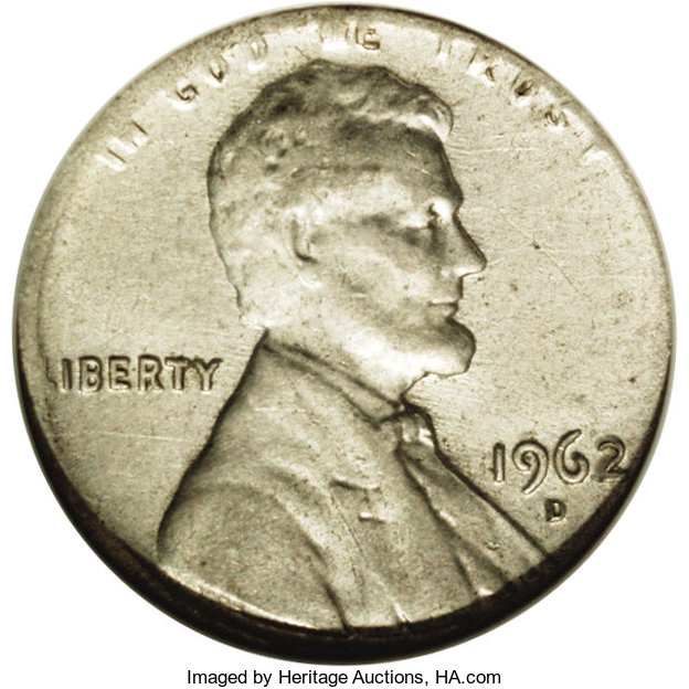 1962 D Lincoln Penny BU From Mint Roll 15/% off 5+