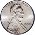 Errors: , 1998 1C Lincoln Cent--Double Denomination on Struck Dime--MS64 PCGS. The dime mintmark is visible, but the date of the unde...