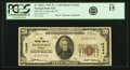 Evansville, IN - $20 1929 Ty. 1 Old NB Ch. # 12444 PCGS Fine 15