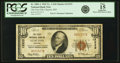 National Bank Notes:Missouri, Clayton, MO - $10 1929 Ty. 1 The First NB Ch. # 12333 PCGS Fine 15Apparent.. ...