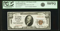 National Bank Notes:Missouri, Saint Louis, MO - $10 1929 Ty. 1 The Telegraphers NB Ch. # 12389PCGS Choice About New 58PPQ.. ...