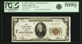 National Bank Notes:Missouri, Saint Louis, MO - $20 1929 Ty. 1 First NB Ch. # 170 PCGS ChoiceAbout New 55PPQ.. ...