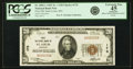 National Bank Notes:Missouri, Saint Louis, MO - $20 1929 Ty. 1 First NB Ch. # 170 PCGS ApparentExtremely Fine 45.. ...