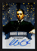 "Non-Sport Cards:Singles (Post-1950), 2014 Leaf Pop Century ""Award Winners"" Al Pacino Signed Card #'d1/5. ..."