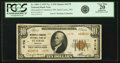 National Bank Notes:Missouri, Saint Louis, MO - $10 1929 Ty. 2 Mercantile Commerce NB Ch. # 4178PCGS Very Fine 20 Apparent.. ...