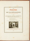 Books:Literature Pre-1900, Sir Walter Raleigh. The Poems Of Sir Walter Raleigh: Now FirstCollected. With A Biographical & Critical IntroductionBy...